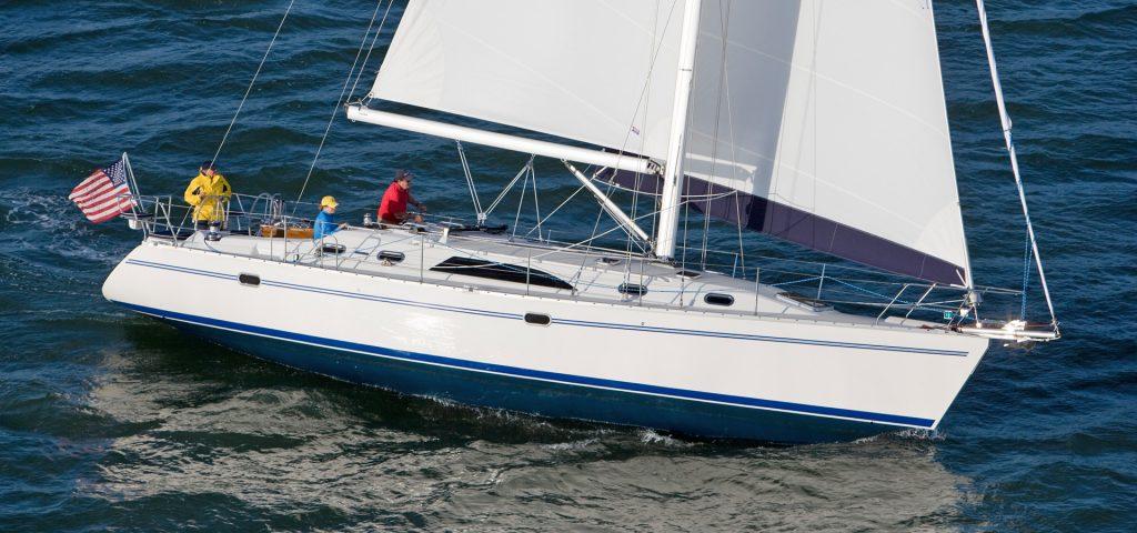 Catalina 445 sailing