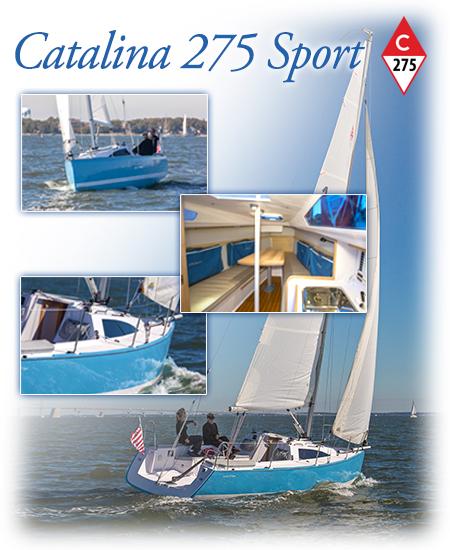 Catalina 275 Sport – Catalina Yachts